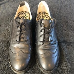 Michael Kors Women's Leather Oxford Shoes